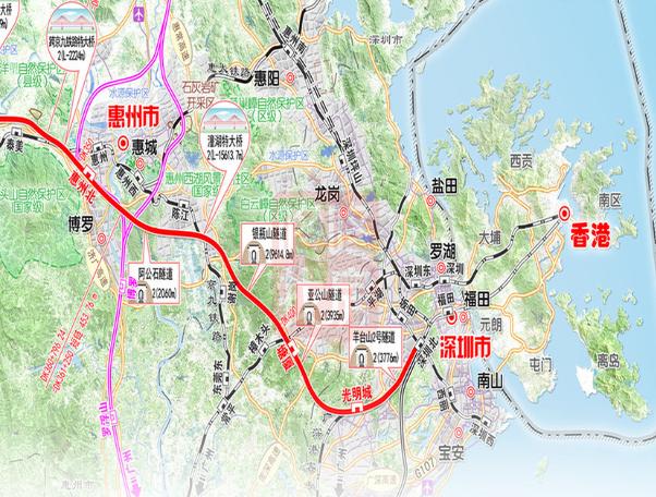 江西龙南县城地图
