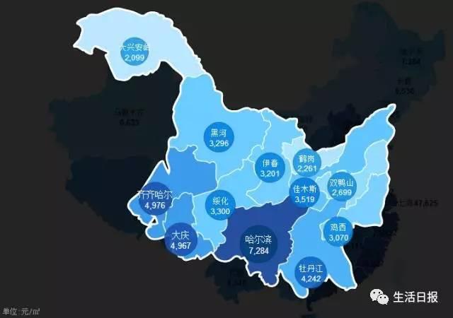 全国房价地图出炉!深圳,珠海,广州分别是多少?