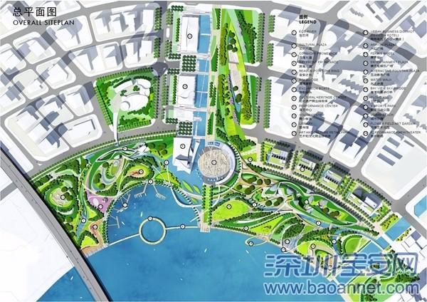 """宝安滨海文化公园4个重点项目,晶晶被摩天轮美哭。。。 """"深圳之光""""摩天轮 包含高度120米的全世界造型罕见的无辐式摩天轮 以及旋转木马、转转杯等配套娱乐设施"""