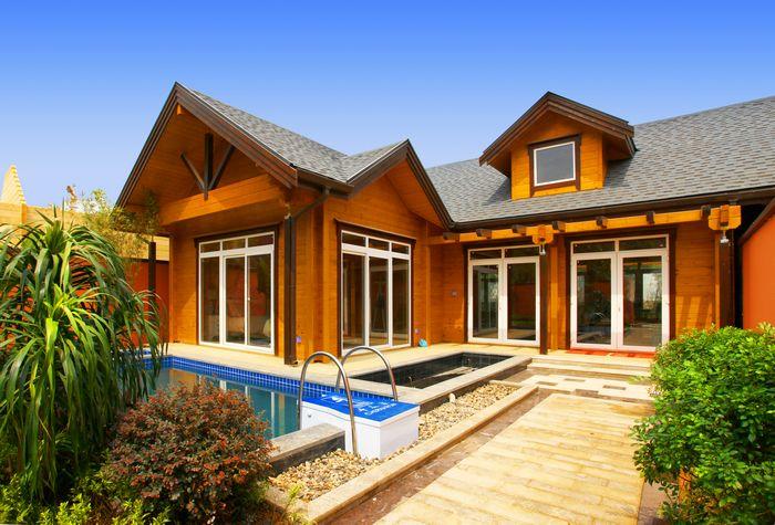 """中国现代木结构建筑产业联盟授予庄园""""中国现代木结构建筑产业"""