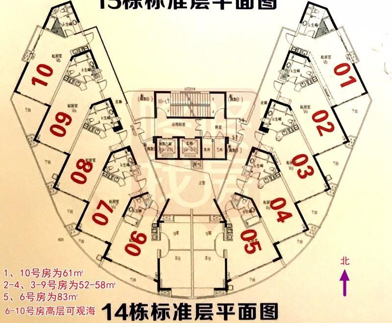 惠州海景房华浩海悦湾楼盘户型,面积及价格介绍
