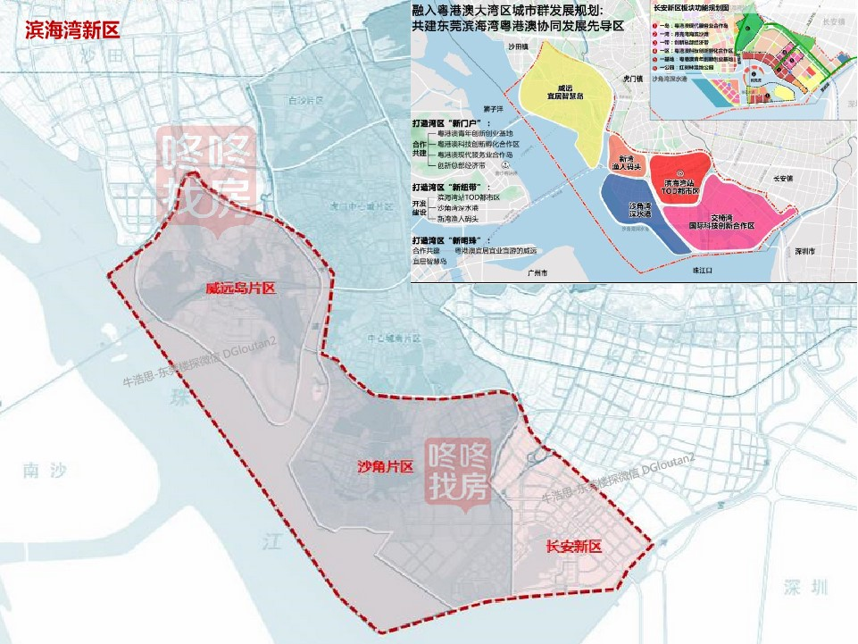 """东莞滨海湾新区 """"湾区1号""""项目启动建设!"""