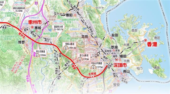 赣深高铁正式获批建设 工期4年