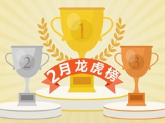 2月龙虎榜:合正丹郡荣获成交量冠军!