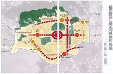 """福田""""2035""""规划出炉 八组团领产城融合大升级(附分布图)"""