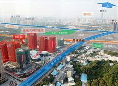 【惠湾航拍7】千亿房企重磅新作 金地天润自在城图解