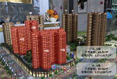 冠华城4、5、8、9栋共324套住宅 售价1.27-1.42万/㎡