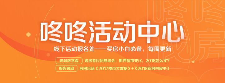 咚咚网友本周活动报名处(3.19-3.25)-咚咚地产头条