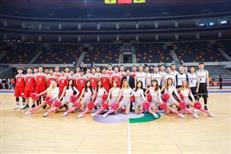 国内某企业打篮球 场地选中国CBA第一球馆