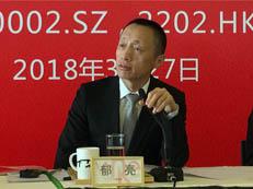 郁亮:中国房价单边涨不动了 房企以前怎么赚的钱以后怎么还回去