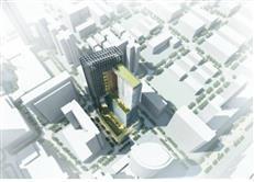 华强北骏嘉地块规划草案:双地铁口商业综合体(附片区项目汇总)