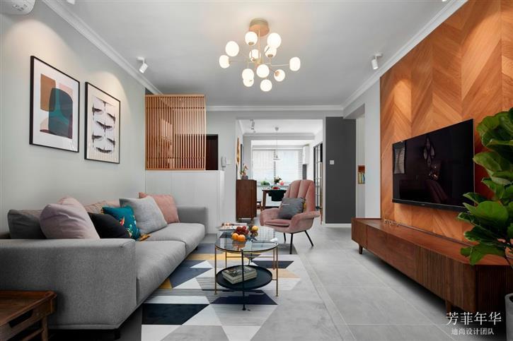 迪尚设计新作首发:《芳菲年华》----梦想筑就家的时光-咚咚地产头条