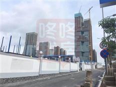 留仙洞那个巨头企业超级工地,见过吗?西丽高铁站规模或超北站!