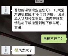 """台风下的深圳:深圳湾""""土豪""""四处避难,选楼标准要改变了?"""