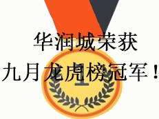 华润城斩获九月龙虎榜量价双冠军!-咚咚地产头条