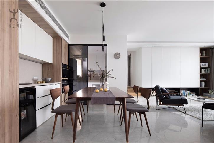 《一念之净》看星海名城110平方小屋如何变身收纳大宅-咚咚地产头条