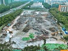 """北站名卓大厦 西丽百旺大厦都拆了!深圳最近拆违有点""""狠""""......"""