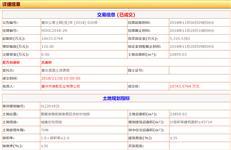 【惠州土拍】星河第四次惠东拿地储备文旅小镇 楼面价2350元/㎡