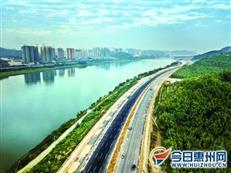 博罗江南大道东段本月通车 博罗到惠城约15分钟