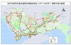 深圳地铁修到凤岗!4期规划调整!10号东延(东莞)、16号南延来了!