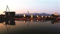 惠州加快融入湾区建设 赣深高铁正热火施工中(多图)