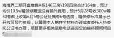 网友爆料:海境界2期将于6月6日开盘,均价10.5万/平(含精装)?