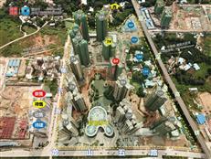 大亚湾中央居住区超级大盘金地天润自在城1期#8楼王推新