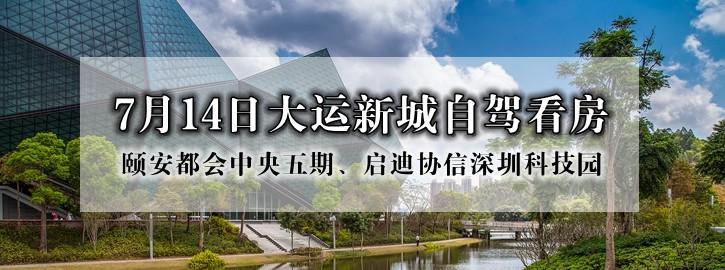 7月14日龙岗大运新城自驾看房召集