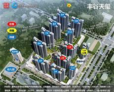 【惠湾备案价】丰谷天玺备案13栋90套室庐,均价1.34万/㎡