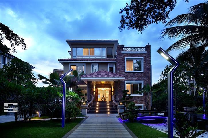 深蓝新作 | 盛世蓝颜,轻奢别墅-咚咚地产头条