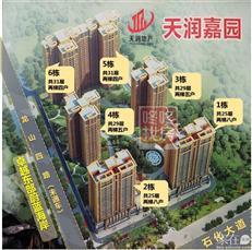 【惠湾备案价】天润嘉园备案#4、6栋255套住宅 均价1.33/㎡
