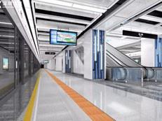 一站一景!地铁9号线二期站点内景首次曝光-咚咚地产头条