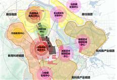 惠州金山水廊控规 一轴三核三节点打造城市形象核心