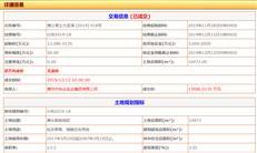 【惠州土拍】秋谷集团拿澳头临海地 楼面达3570元/㎡