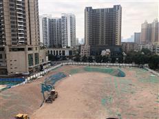现场!南山区恒大大新北旧改项目拆平、卓越九珑项目准备开建?