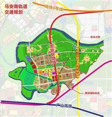 惠城区马安南产业园控规 拟设深惠城际站点+1处地铁站
