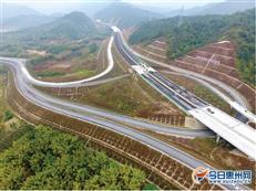 惠清高速惠州段加快施工 通车后惠城到清远只需1.5小时