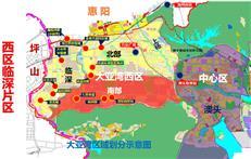 老牛观察-惠州临深各区域对比