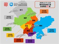 【惠州楼市周报】网签221套逐渐走高 持续四周零供应