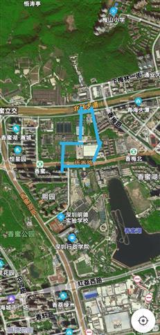 容积率2.5香蜜湖新豪宅、08-01-02地块-房网地产头条