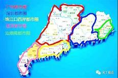 广东只有两个都市圈