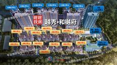 越秀和樾府:尖岗山上的豪宅,越秀入深首秀建16.8万㎡人居社区