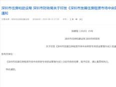 深圳稳租金出大招!这些项目可申请补帖,最高1500元/平
