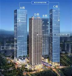 鸿荣源天俊:北站核心商业组团地标,在售建面约63-95㎡精装公寓