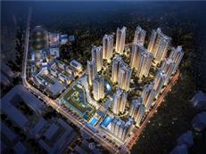 低密度大社区,尖岗山壹号花园建面约79-136㎡山居住宅