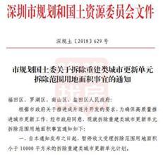 """深圳""""小地块""""更新松绑解禁了!条件是这样的……"""