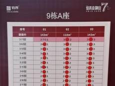 突发!信义嘉御山7期118平户型卖完了,剩少量低楼层143平(附销控)-咚咚地产头条