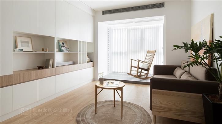 素之梦|温馨日式,白蜡木与藤编对话,享受舒适慢生活-咚咚地产头条