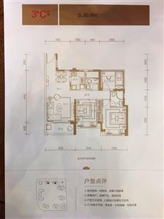 深城投中央第宅独家户型阐发 备案均价4.25万4.9开盘②【户型篇】