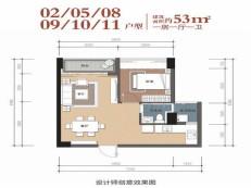 龙华清湖地铁口物业  评幸福公寓(含户型解析)